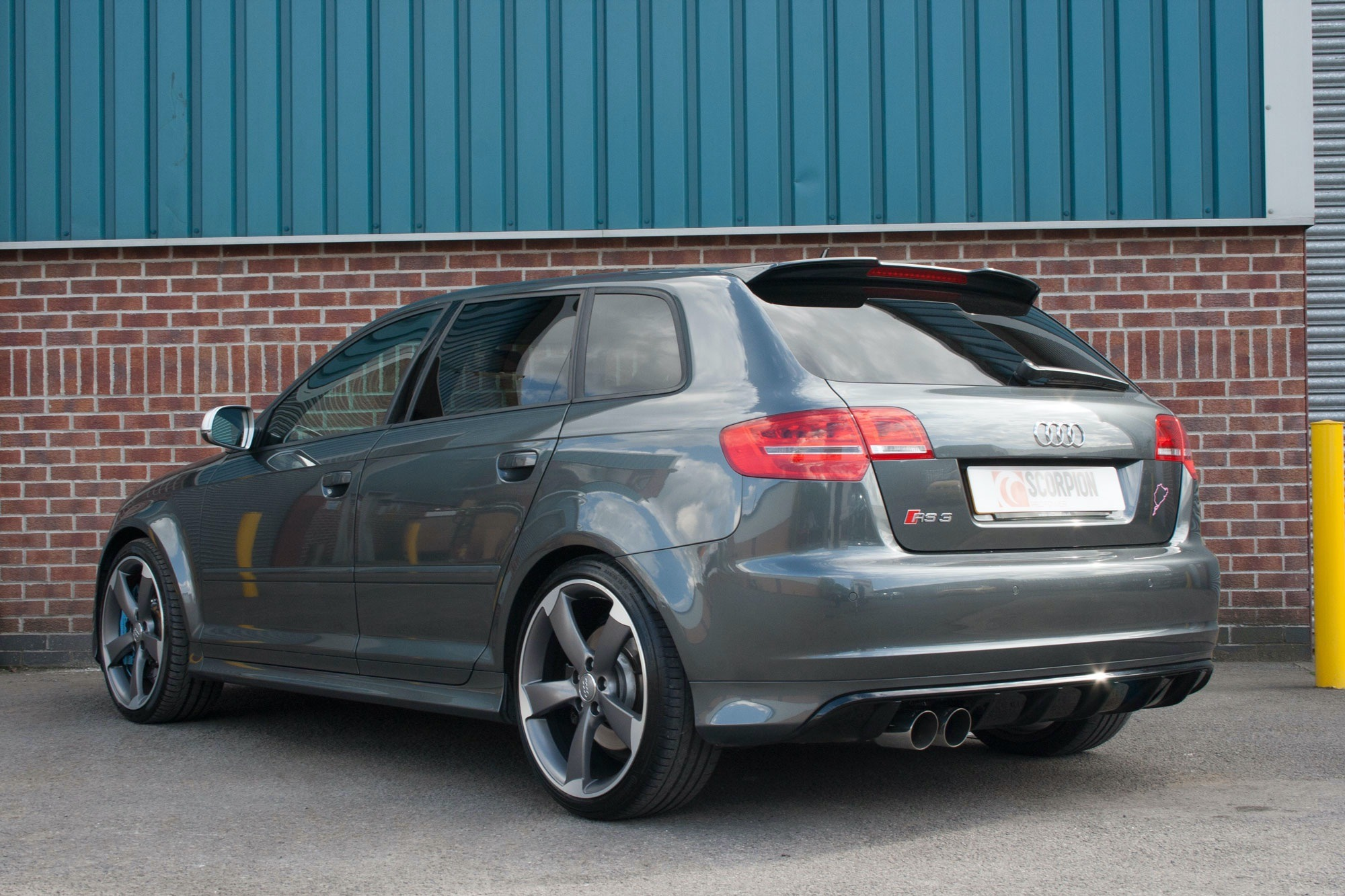 Scorpion Non-resonated secondary cat-back system for Audi ...